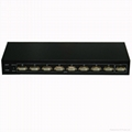 8 Port DVI splitter--Rack-mount---Metal