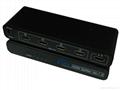 1 to 4 port HDMI Splitter -------Metal Ver1.4 3D  3
