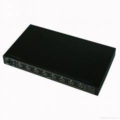 1.4v 3D 4kx2k 1x8 HDMI Splitter Desktop