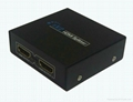 1*2 port hdmi splitter  3D