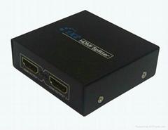 1*2 port hdmi splitter  3D