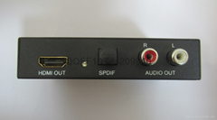 HDMI to HDMI Audio(SPDIF+R/L)