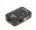 2 Port USB Manual KVM switch 2