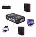 2 Port USB Manual KVM switch 3