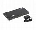 1.4v 3D 4kx2k 1x8 HDMI Splitter Desktop  3