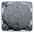 cast iron manhole cover, sand casting, investment cating