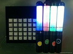 Remote control led glow stick, concert led light stick