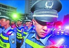 Multi-function police shoulder flash