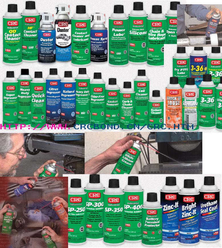 CRC工业用防锈润滑剂,除锈剂,冷镀锌剂,金属光亮剂 1