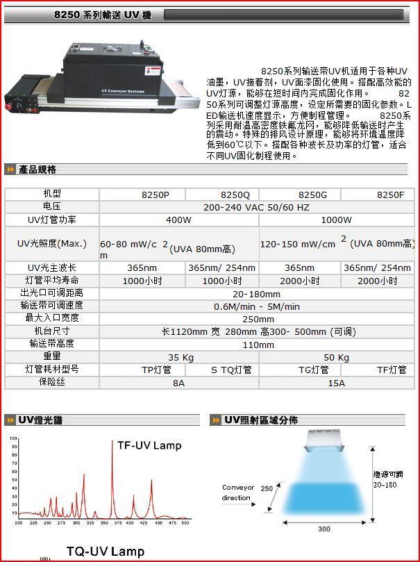 電子,光電,玻璃工藝品行業用UV膠固化機器 1