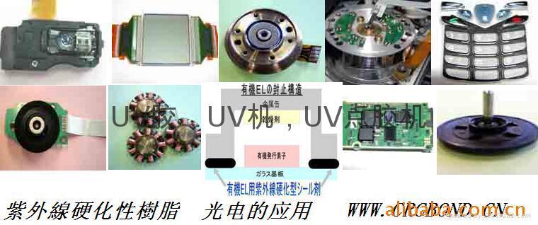 DVD光學鏡頭,手機,CCD CMOS模組,微型馬達用UV膠 3