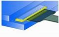 LCD液晶面板封口UV胶,COG防湿UV胶,粘PIN胶 4