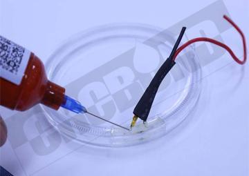 CRCBOND灯具塑料玻璃金属粘结UV胶 1
