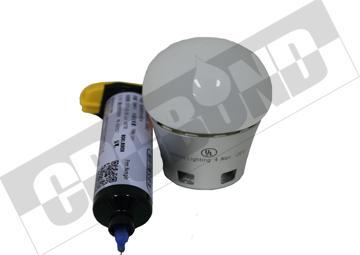 CRCBOND灯具塑料玻璃金属粘结UV胶 3