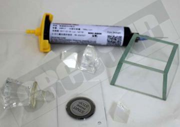 CRCBOND玻璃与玻璃粘结UV胶 2
