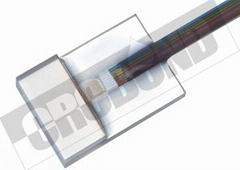 CRCBOND 光纤FA尾胶FA盖板玻璃UV胶