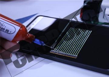 CRCBOND 光纤FA尾胶FA盖板玻璃UV胶 2