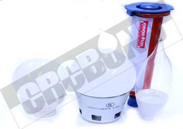 CRCBOND LED灯罩与支架粘结UV胶 1