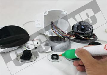 CRCBOND摄像头监控部件UV胶 1
