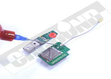 CRCBOND電子聲器件焊點保護UV膠 1