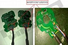CRCBOND電機編碼器焊點保護UV膠