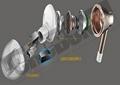 CRCBOND微型迷你扬声器UV胶 1