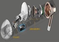 CRCBOND微型迷你扬声器UV胶
