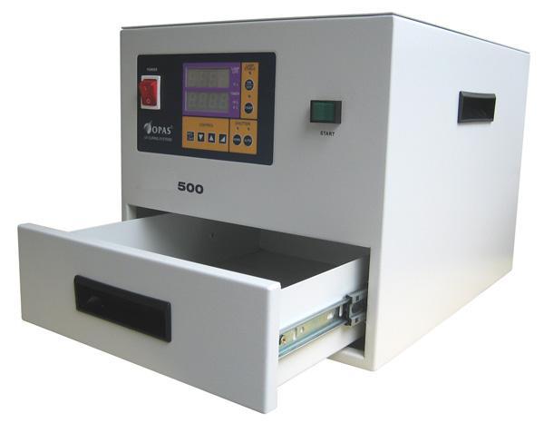 500抽屜式UV機適用於各種UV膠和油墨 1