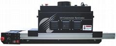 8250系列输送带UV机适用于各种UV油墨,UV接着剂,UV