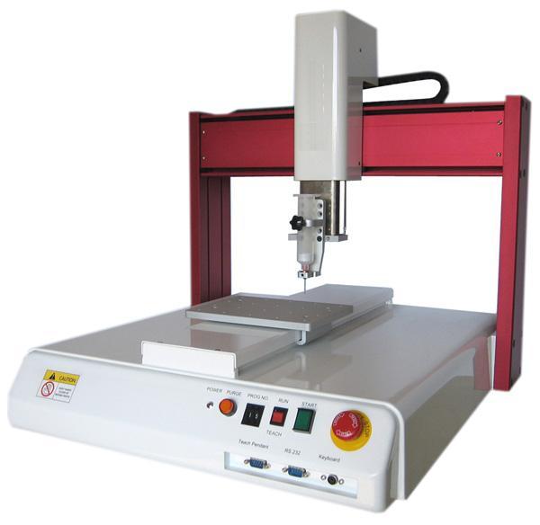 XYZ三轴自动点胶机适用于自动化点胶生产,经由设定的路径, 1