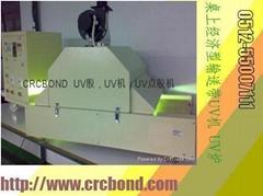雙燈管雙控制桌上型輸送帶UV固化爐