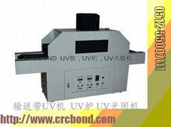 落地式输送带(双灯管双控制)UV光固化机器(经济型)