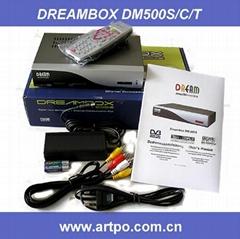 DreamBox 500 dreambox DM500-S DM 500S DM500s digital satellite receiver DVB-S