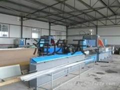 production line for aluminium spacer