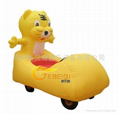 老虎充氣電瓶車