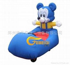 充氣電瓶車米老鼠