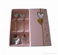 不锈钢情侣餐具