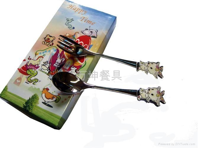 12生肖卡通餐具 2