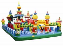 迪士尼大型充氣玩具