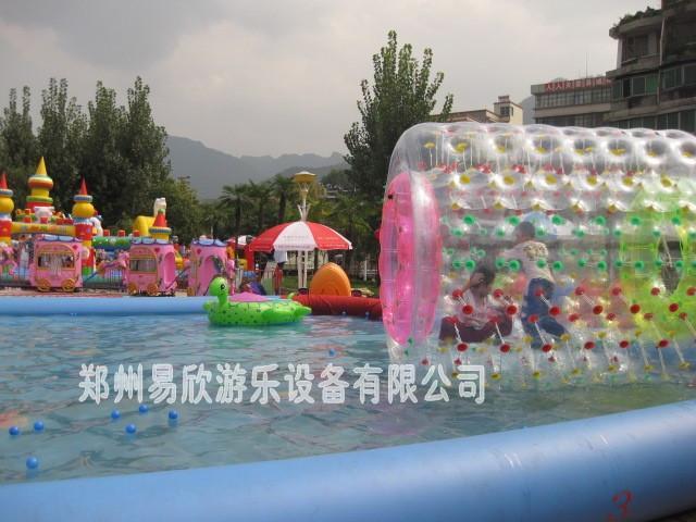 水上滚筒球 1