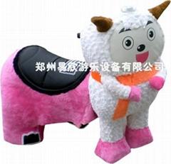 电动毛绒玩具车