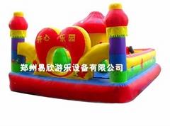 大型儿童充氣城堡玩具