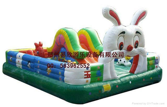 儿童大型充氣氣模蹦蹦床 2