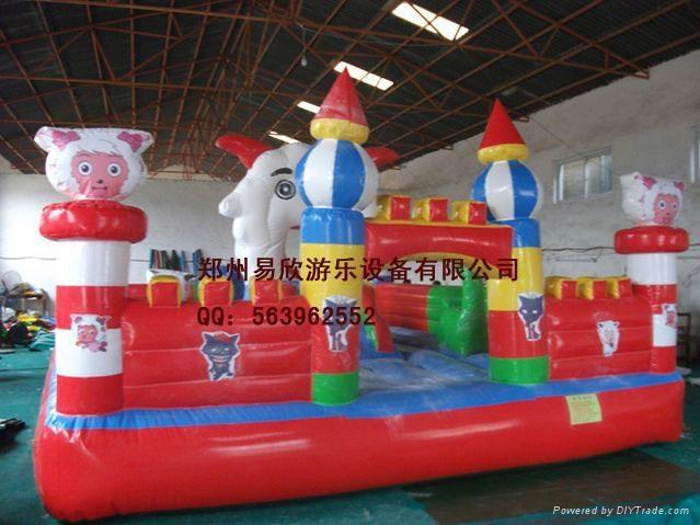儿童大型充氣氣模蹦蹦床 3