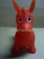 Inflatbale jumping horse 1