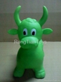 Inflatbale jumping horse 3