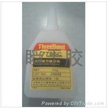 低白化日本三鍵TB7786C高強力瞬干膠