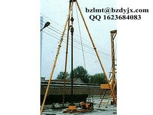 Water Well Drilling Rig Tripod Type China Manufacturer