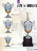 塑料獎杯批發製作 2