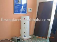 高效平板太阳能热水器